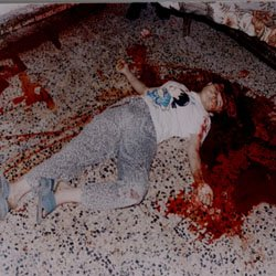 Raneed Raad, a 16 years old Assyrian girl killed by muslims in Baghdad, Iraq 11 July 2004