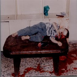 Raphid Raad, a 6 years old Assyrian killed by muslims in Baghdad, Iraq 11 July 2004