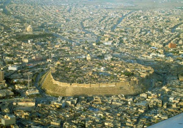 Ancient Assyrian city of Arbela widely known as Arbil