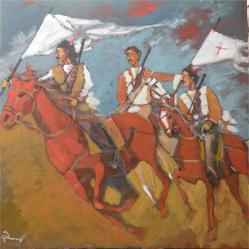 Assyrian Fighters by Paul Batou